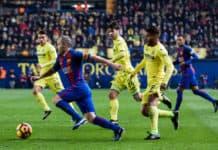 Andrés Iniesta Villarreal CF vs FC Barcelona