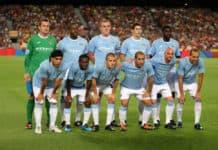 Manchester City startopstilling