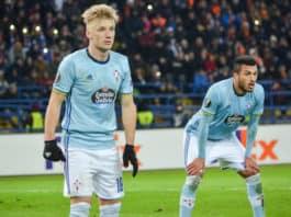 Daniel Wass i UEFA Europa League - Celta Vigo mod Shakhtar Donetsk