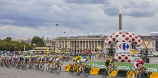 Feltet i Paris - Tour de France 2018