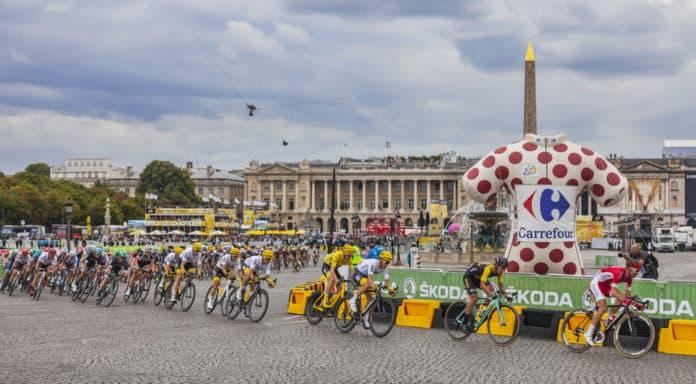 Feltet i Paris - Tour de France 2018