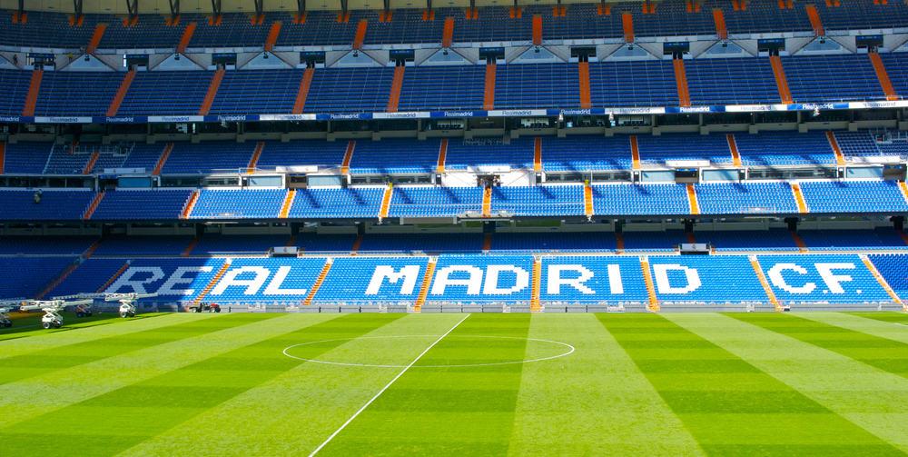 Real Madrid's stadion Santiago Bernabeu