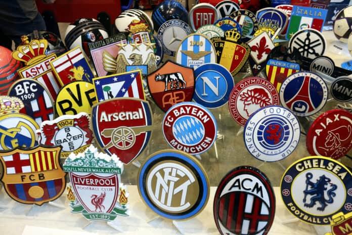 Fodboldklubber ikoner